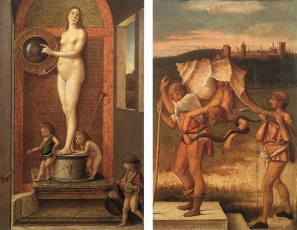 Four allegories 2 EUR